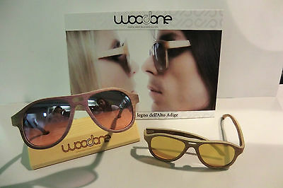 Occhiali da sole in legno - WooDone - Wood Sunglasses.