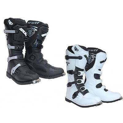 Wulfsport Track Star Motocross MX Motorcycle Enduro Off Road Boots