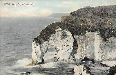 Northern Ireland Postcard White Rocks Portrush 1905 L0 020