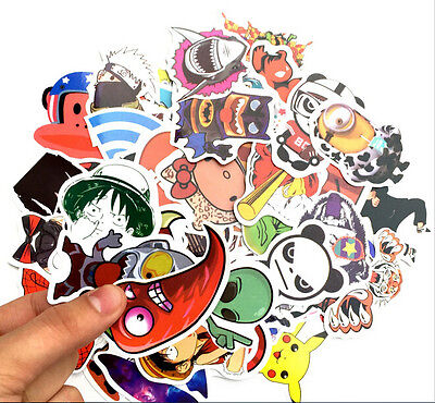 JDM 10pcs sticker bombing sticker bomb decal Euro Style Drift Laptop Car Sticker