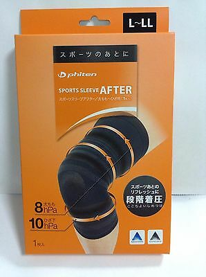 NEW Made in Japan Phiten Sports Sleeve After for Thigh/Knee FREE SHIPPING 1pc