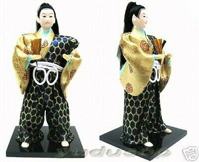 Beautiful Japan fighter doll made of Silk No: 10C