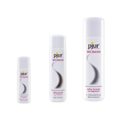 Pjur Woman Silicone Based Vaginal Lubricant 30/100/250ml