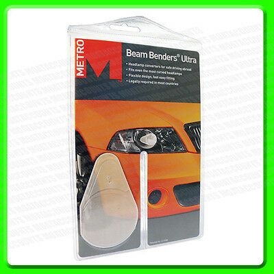 Super Beam Benders For Driving in Europe [HG129] Headlamp Beam Converters