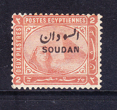 NORTH AFRICA 1897 2p orange-brown of Egypt overprinted -mounted mint SG7 cat £80