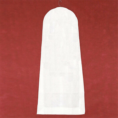 1x Wedding Dress Cover Storage Bags Dustproof Large Breath Bridal Gown Garment