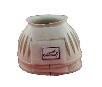 Over-Trot White rubber bell boots - Small size