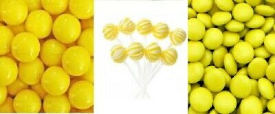 Yellow DIY Candy Lolly Bar Wedding Party Favour