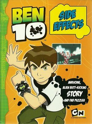 Ben 10 Side Effects Storybook (Ben 10 Story Book), New,  Book