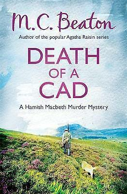 Death of a Cad by M. C. Beaton (Paperback) New Book