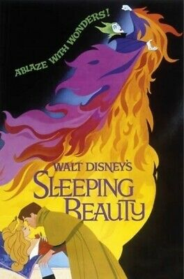 SLEEPING BEAUTY ~ VINTAGE DISNEY ~ 24x36 MOVIE POSTER ~ NEW/ROLLED! ~ MALIFICENT