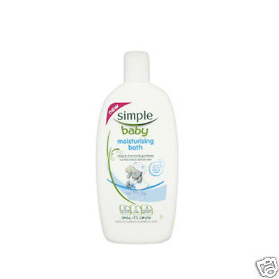 3 x Simple Baby Moisturising Bath No Tears 300ml