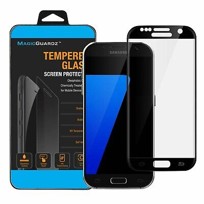 Full Cover Premium Tempered Glass Screen Protector for Samsung Galaxy S7