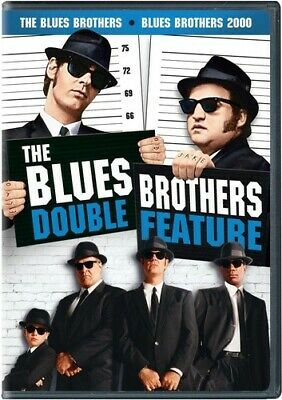 Blues Brothers Double Feature - 2 DISC SET (2016, DVD New)