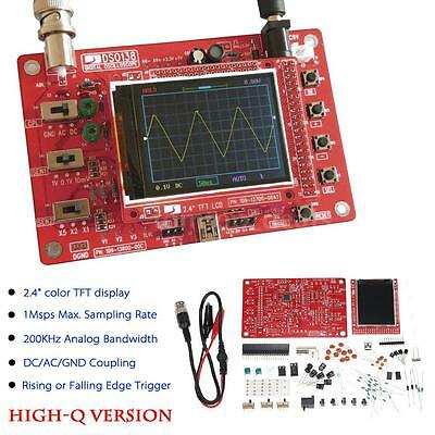 New Mini Digital Oscilloscope Kit DIY Parts Electronic Learning Set DSO138 A9P2