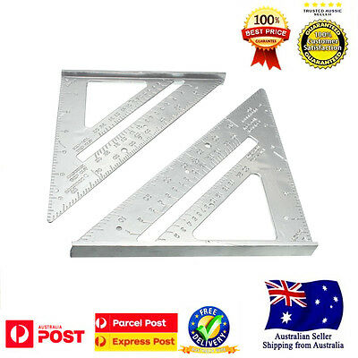 Speed Square Protractor Miter Framing Measurement Ruler 18*18*25cm