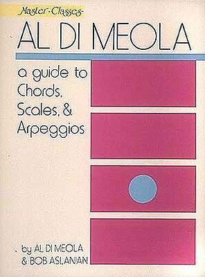 Al Di Meola: A Guide To Chords, Scales And Arpeggios Gitarre Notenbuch