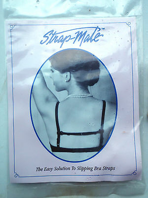 Strap- Mate easy solution to slipping Bra Straps'. FREE POSTAGE
