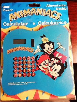 Animaniacs Solar Calculator - New In Package - Tested And Works