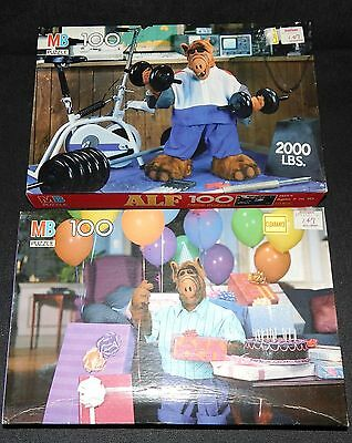 Lot of 2 Vintage ALF TV Show Full-color Puzzles - NEW SEALED - Birthday & Gym
