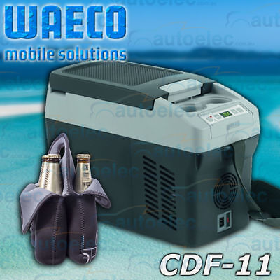 Waeco Cdf11 Fridge Freezer New Refrigerator 12 12V 24 Volt Car Portable + Bonus