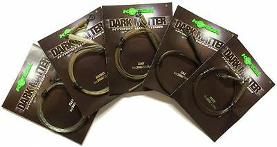 Korda NEW Safe Zone Kamo Dark Matter Leaders, Dark Matter Leadcore And Tubing