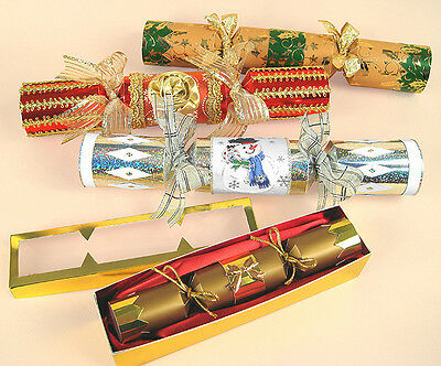 A4 Card Making Templates Opening Christmas Crackers + Display Box, Card Carousel