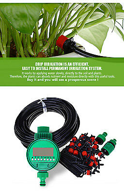 DIY Automatic Micro Drip Irrigation System with Smart Controller