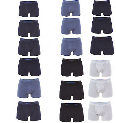 Mens ex M&S Cotton Stretch Boxer Shorts, Underwear, Trunks Cool and Fresh 3 Pack