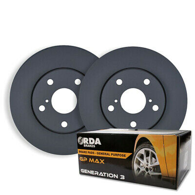 FRONT DISC BRAKE ROTORS + BRAKE PADS for LEXUS IS200 IS300 8/2000-2005 RDA748