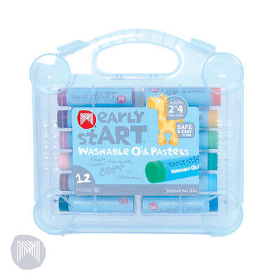 Micador Early Start Washable Oil Pastels Pk 12 in Case