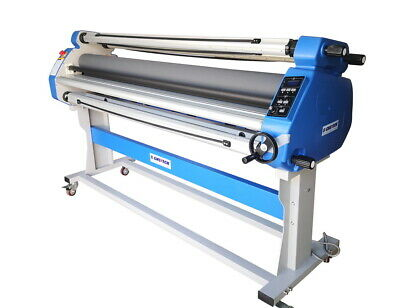 "New 1630mm 64"" Hot Cold Laminator Roll Laminating Machine With Auto Take Up"