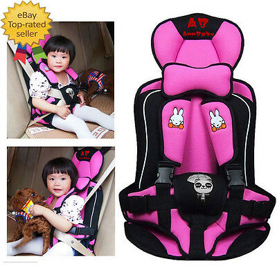 3 in1 Convertible Child Baby Car Seat Safety Booster For Group 1/2/3 9-36 kg