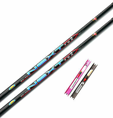2 x Lineaeffe 3 Meter Telepole/Whips with 2 pole rigs