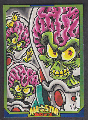 Mars Attacks Occupation - All Star Artist Insert Card - # 5
