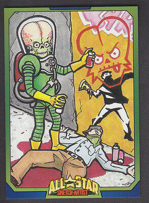 Mars Attacks Occupation - All Star Artist Insert Card - # 9