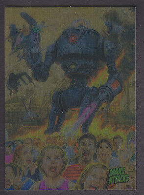 Mars Attacks Occupation - Base Card Foil Parallel - # 27