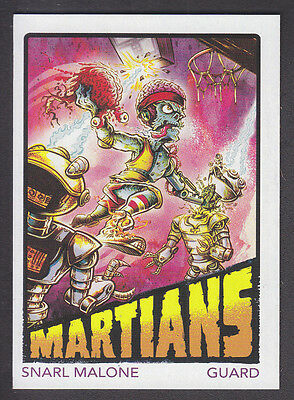 Mars Attacks Occupation - Superstars Insert Card - # 5