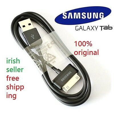 100% Genuine Samsung Galaxy Tab 2 / Note 10.1 Usb Sync Data Charger Cable Black