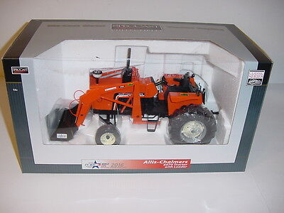 """1/16 Allis Chalmers 6070 """"High Detail"""" Tractor W/Loader NIB! 2016 Wold Pork Expo"""
