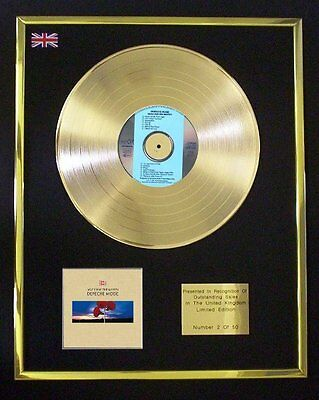 Depeche Mode Music For The Masses Cd Gold Disc Free P+P