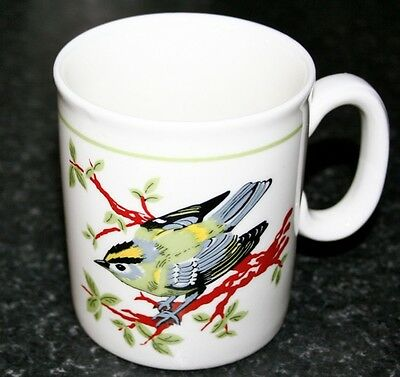 Rare Rspb Goldcrest Mug - Royal Society For The Protection Of Birds