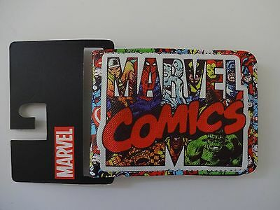 Marvel Comics Leather Wallet BiFold High Quality Artwork Bioworld Brand New