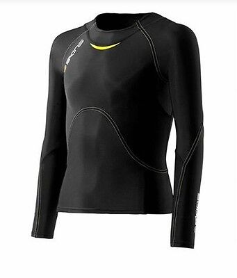 SKINS A400 YOUTH Boys Long Sleeve Compression Top Small NWT