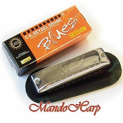 Seydel Harmonica - 10201 Blues Session (SELECT KEY) NEW