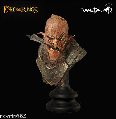 LORD OF THE RINGS WOUNDED ORC busto Weta Sideshow