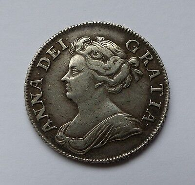 1708 Queen Anne Shilling Gvf