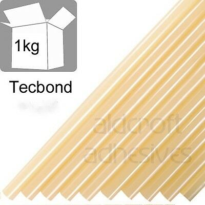 TECBOND 214/12 Hot Melt 12mm 1kg Amber,Packaging, Glue Sticks