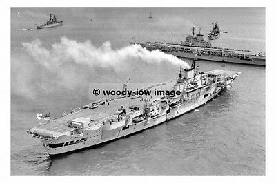 rp17803 - Royal Navy Aircraft Carrier - HMS Indefatigable - photo 6x4