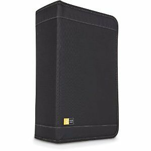 Case Logic CDW128T CD DVD Storage Wallet 136 Disc DJ Caselogic BRAND NEW UK